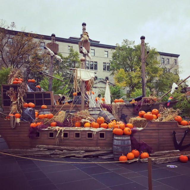 Cest beau Qubec hoteldeville quebec quebeccity family fall pumpkin
